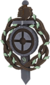 Painted Tournament Medal - Chapelaria Highlander BCDDB3 Participant.png
