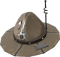 Painted Full Metal Drill Hat 7C6C57.png