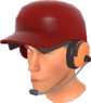 RED Batter's Helmet Hat and Headphones.png