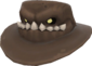 Painted Snaggletoothed Stetson F0E68C.png